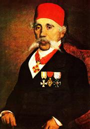 Portret Vuka S. Karadžića, 1863 | ulje Uroš Knežević | Narodni muzej Beograd